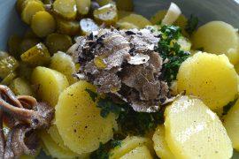 Insalata di patate e tartufo