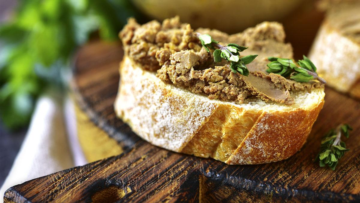 Patè di fegato e tartufo nero